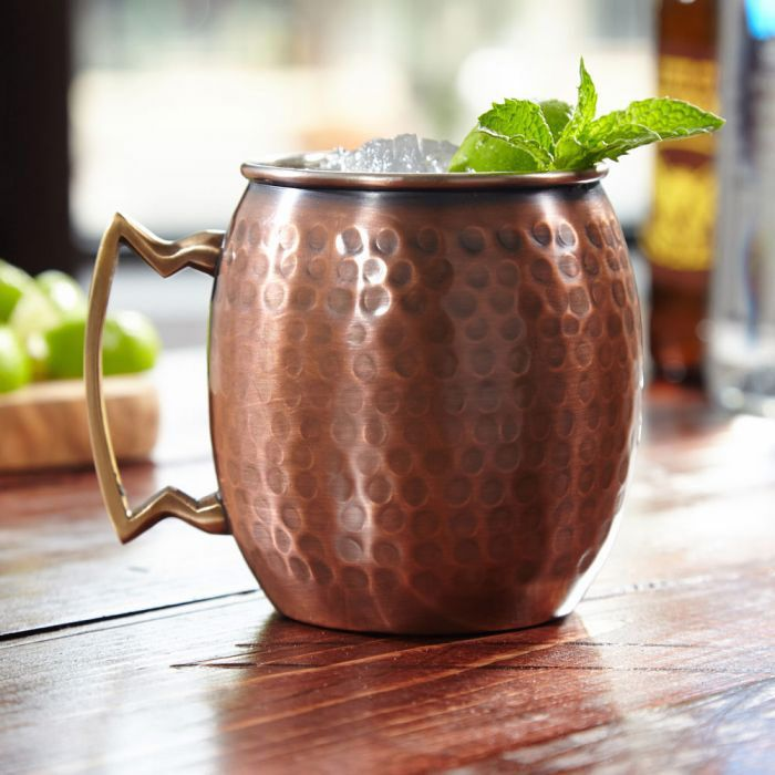 Advanced Mixology Set of Four Copper Mugs