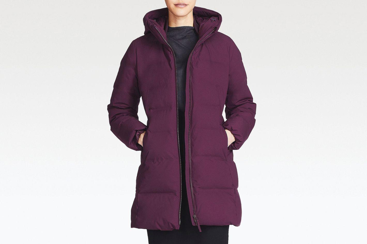 Women's Seamless Down Coat