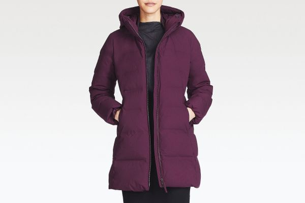 Women's Seamless Down Coat