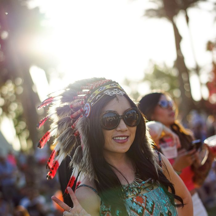 A Music Festival Finally Banned Native-American-Style