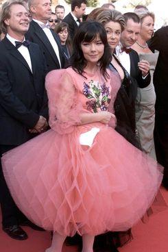"Björk at the 2000 premiere of ""Dancer in the Dark."""