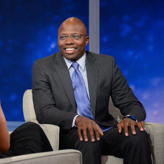 Former 'body man' to President Obama Reggie Love during an interview airing on Good Morning America, on February 4, 2015.