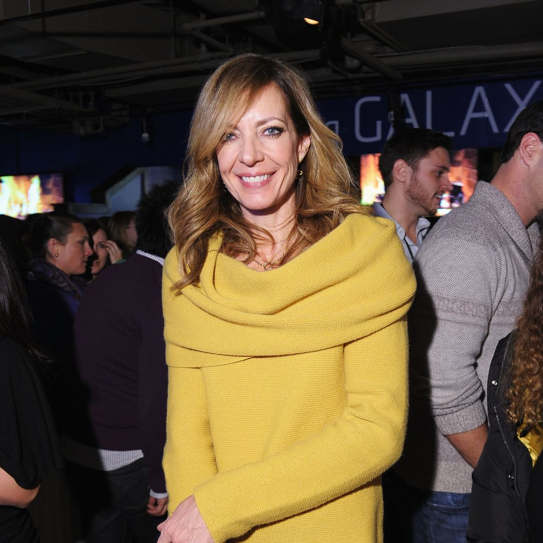 PARK CITY, UT - JANUARY 21:  Actress Allison Janney attends Night 4 of Samsung Galaxy Lounge at Village At The Lift 2013 on January 21, 2013 in Park City, Utah.  (Photo by Michael Loccisano/Getty Images for Samsung)