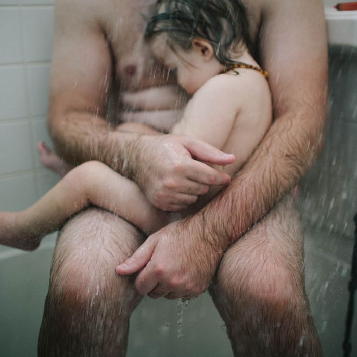 After considerable public outcry and a growing social-media campaign, a  tender nude portrait of a dad cradling his son in a shower — a sort ...