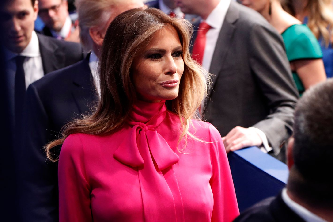 Melania Trump who messed up 8
