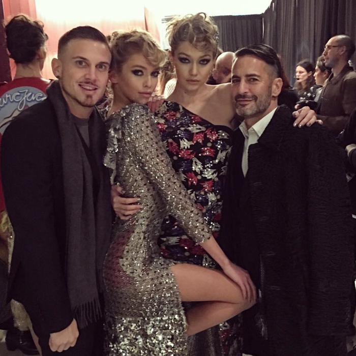 These extras should really be models IRL. Stella Maxwell/Instagram