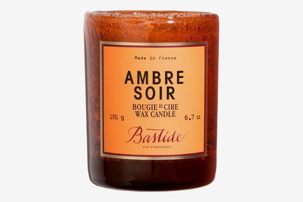 Bastide Hand Blown Ambre Soir Candle