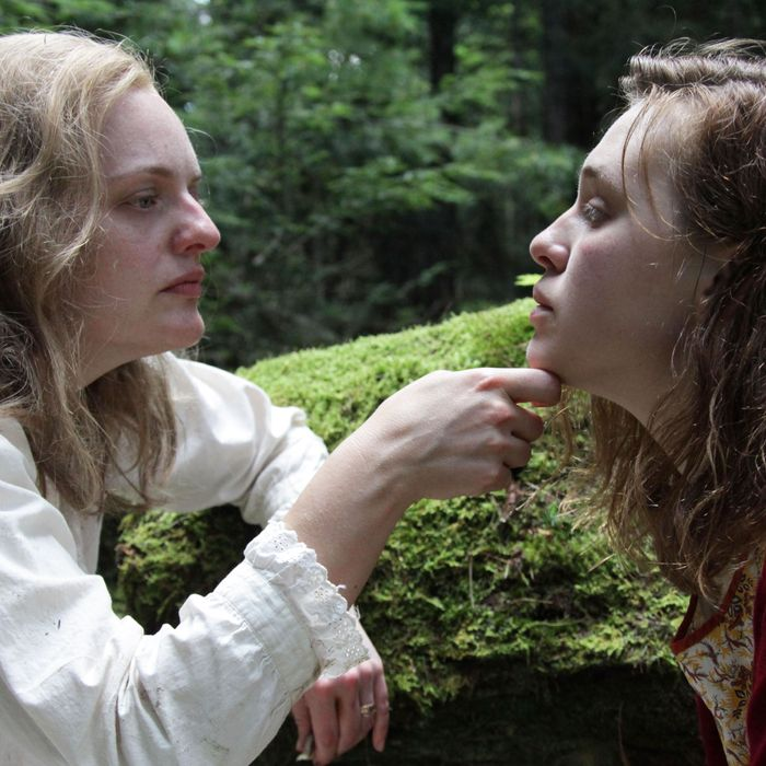 Elisabeth Moss and Odessa Young in Shirley