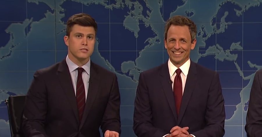 Seth Meyers Resurrects 'Really!?!' to Mock Kanye and Trump a Little Bit Longer