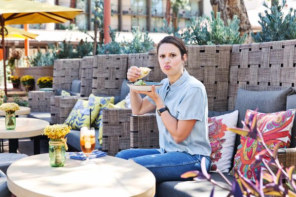 Scandal's Katie Lowes Eats Fish Tacos at Least Once a Week