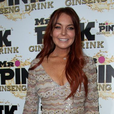BEVERLY HILLS, CA - OCTOBER 11: Actress Lindsay Lohan arrives at Mr. Pink Ginseng Drink Launch Party on October 11, 2012 in Beverly Hills, California. (Photo by Valerie Macon/Getty Images)