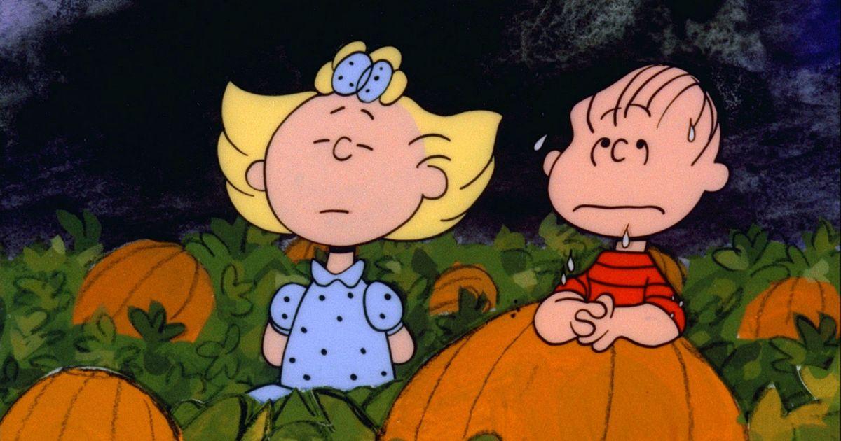 The Great Pumpkin Charlie Brown Blanket KIDS // MEDIUM // LARGE
