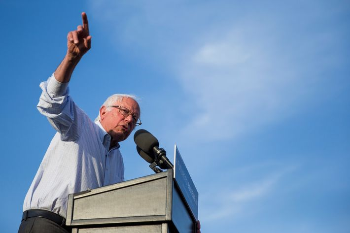 Bernie Sanders Presidential Rally in Washington