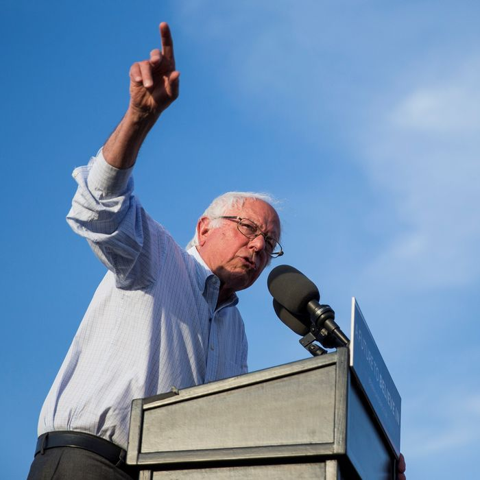 Bernie Sanders Presidential Rally in Washington