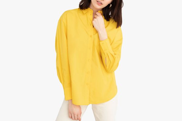 & Other Stories Cotton Button Up Shirt