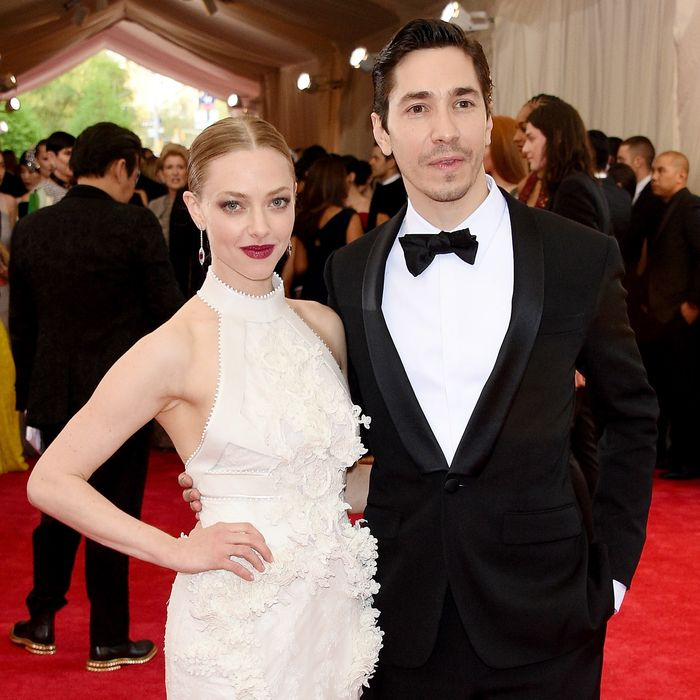 Instacouple Amanda Seyfried and Justin Long.