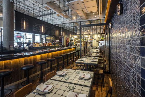 Designer Jun Aizaki looked to Portuguese taverns.