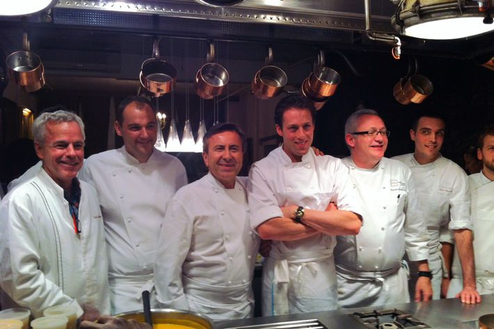 The best of the best on Saturday night at the Bouley Test Kitchen.