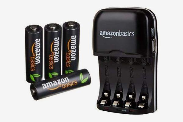 AmazonBasics AAA High-Capacity Rechargeable Batteries
