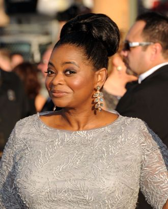 LOS ANGELES, CA - JANUARY 29: Actress Octavia Spencer arrives at the 18th Annual Screen Actors Guild Awards at The Shrine Auditorium on January 29, 2012 in Los Angeles, California. (Photo by Jason Merritt/Getty Images)