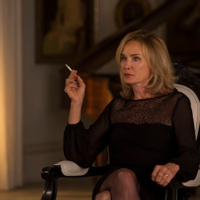 AMERICAN HORROR STORY: COVEN Fearful Pranks Ensue - Episode 304 (Airs Wednesday, October 30, 10:00 PM e/p) --Pictured: Jessica Lange as Fiona -- CR. Michele K. Short/FX