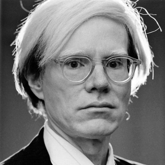 Andy Warhol. Photo: Jack Mitchell/Getty Images