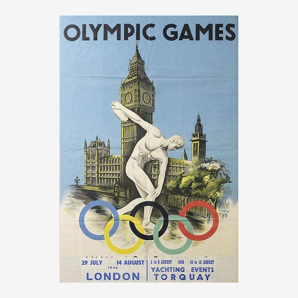 London Olympic Games Poster