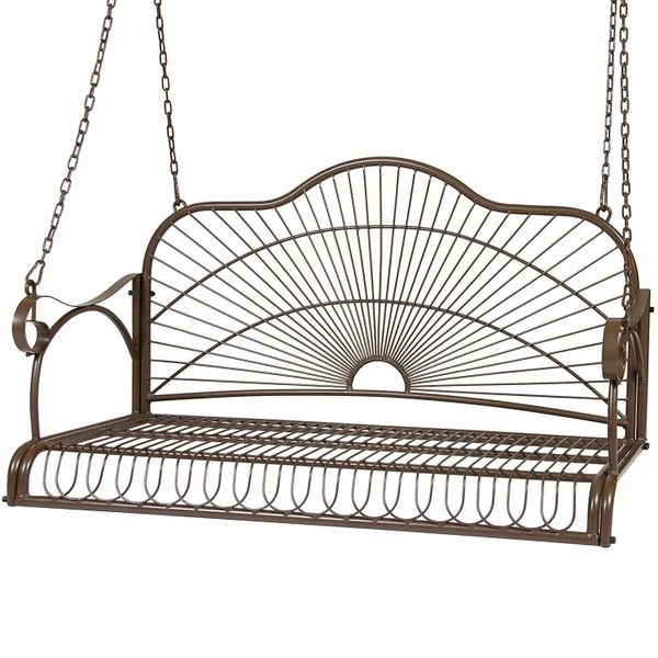 Best Choice Products Iron Patio Hanging Porch Swing