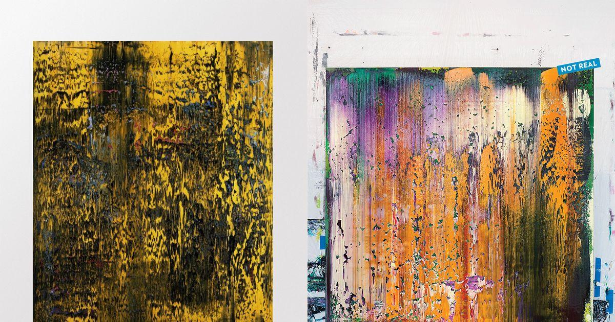 Saltz Challenges: Produce A Perfect Faux Gerhard Richter Painting