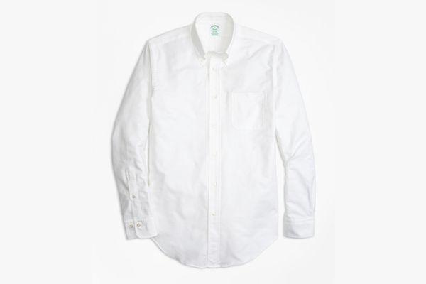 Brooks Brothers Milano Fit Oxford Sport Shirt