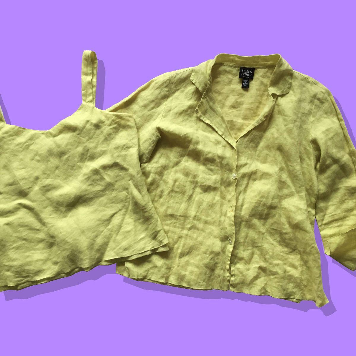 The Best Secondhand Eileen Fisher Linen On Ebay 2018 The Strategist New York Magazine
