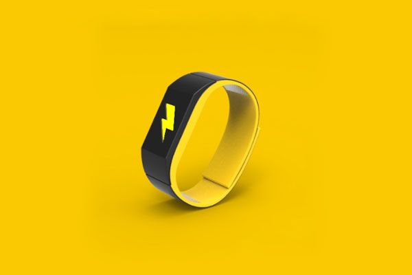 This Wearable-Tech Bracelet Electrocutes You If You Skip the Gym