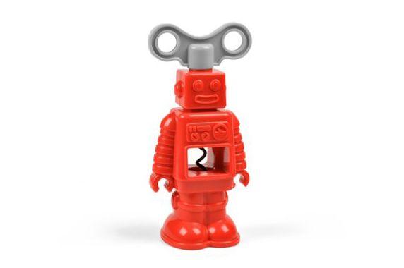 Fred Robottle Vintage Robot Corkscrew