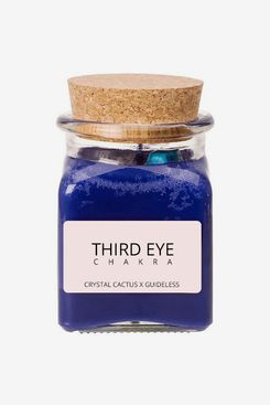 Crystal Cactus x Guideless Third Eye Chakra Candle