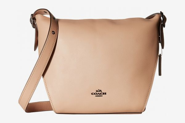 Coach Dufflette in Natural Calf Leather- Beechwood