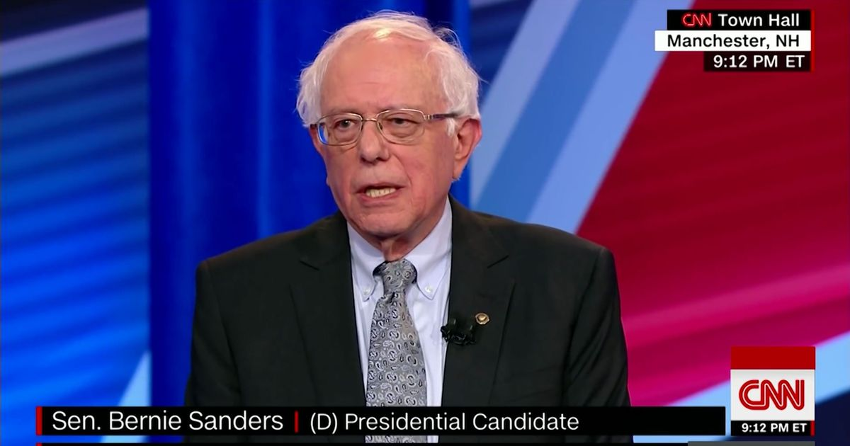 Bernie Sanders: 'Democratic Socialist' Is Just a Synonym for New Deal Liberal
