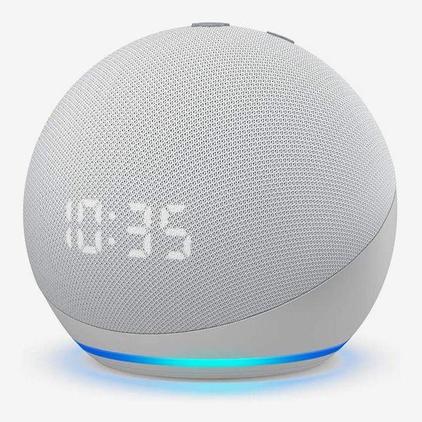 Echo Dot 4th Gen Smart Speaker and Clock