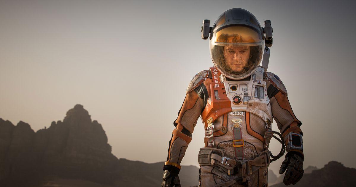 The Martian Soars