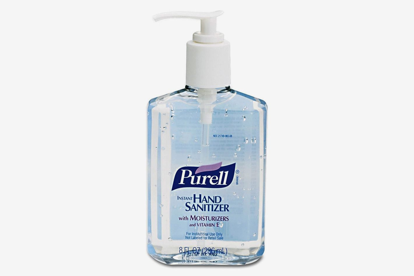 Purell Advanced Hand Sanitizer Refreshing Gel, 8 Ounce