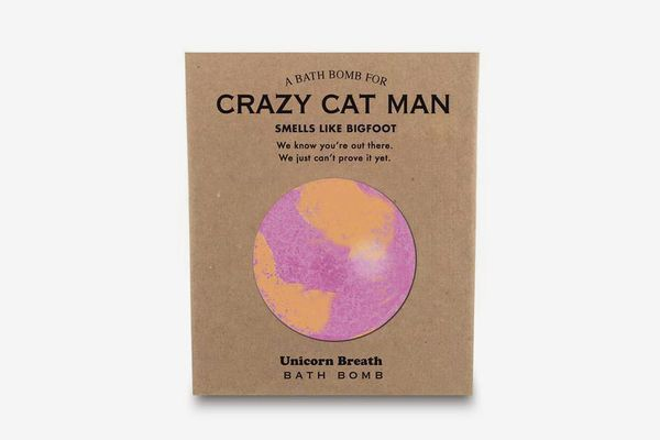 Whiskey River Soap Co. Crazy Cat Man Bath Bomb