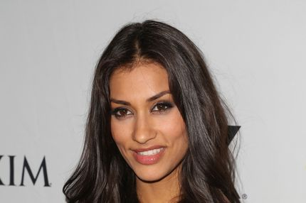SAN DIEGO, CA - JULY 13:  Actress Janina Gavankar attends the Maxim, FX and Fox Home Entertainment Comic-Con Party at Andaz on July 13, 2012 in San Diego, California.  (Photo by Chelsea Lauren/Getty Images for Maxim)