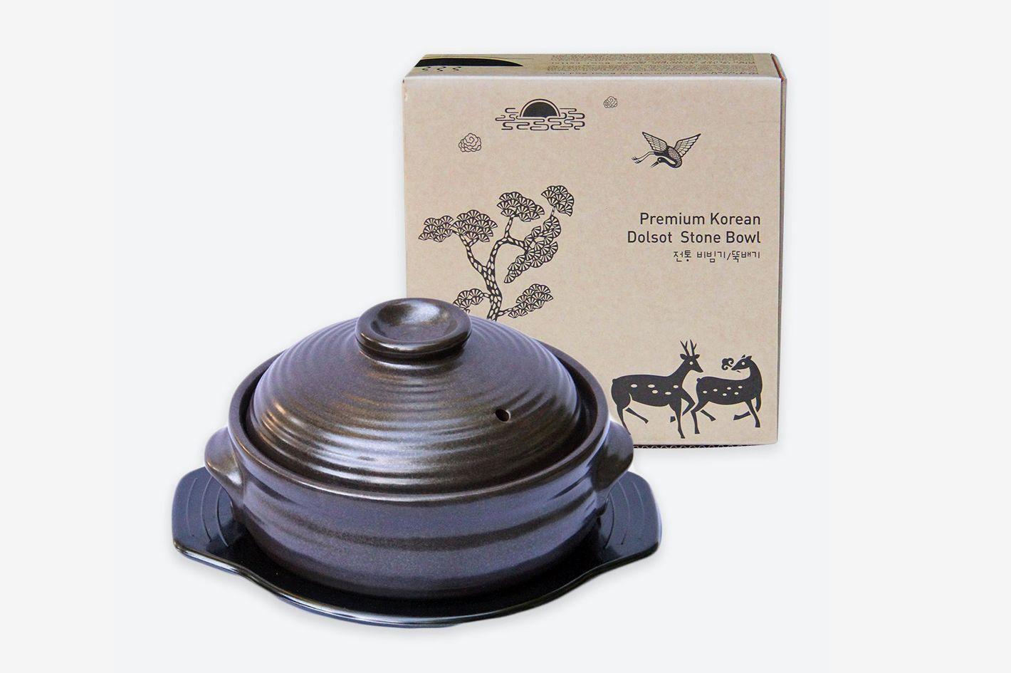 Crazy Korean Cooking Stone Hot Pot