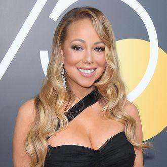 Mariah Carey chest