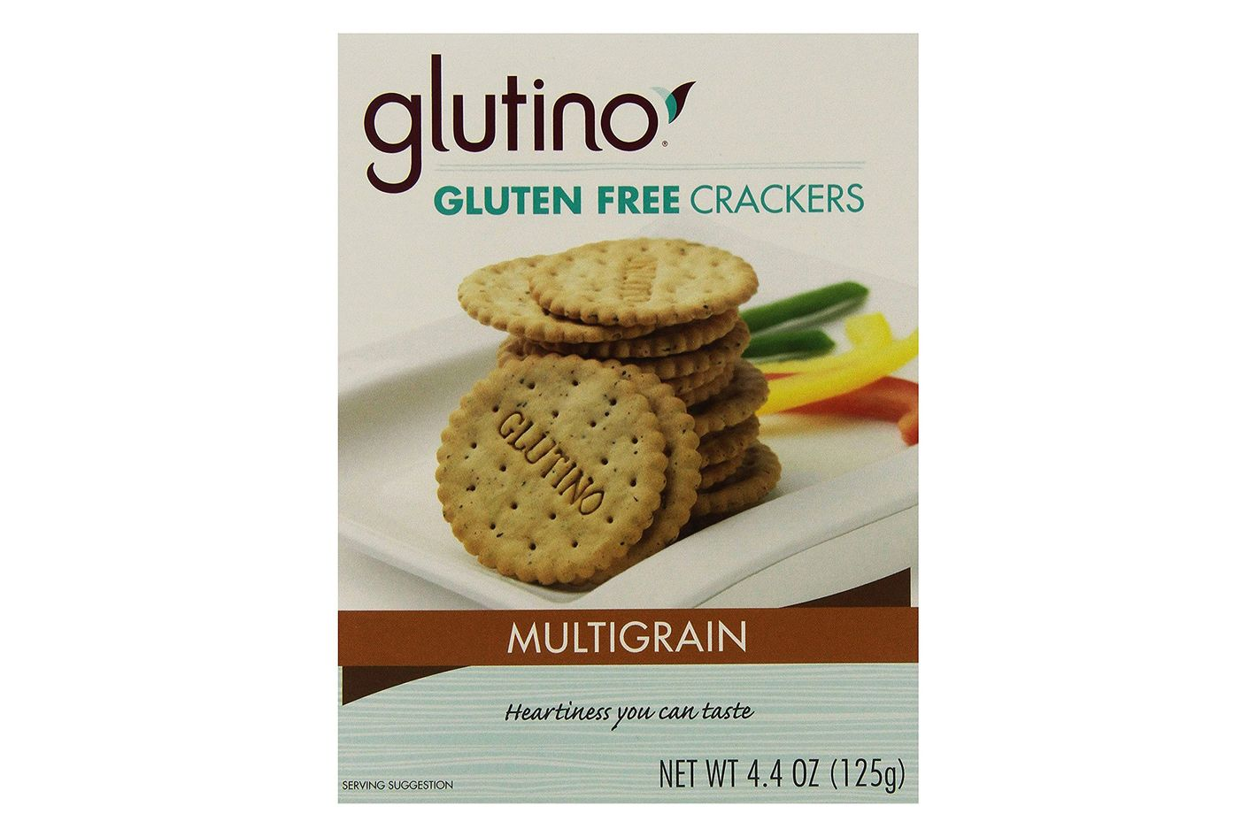 Glutino Gluten-Free Crackers, Multigrain, Pack of 6