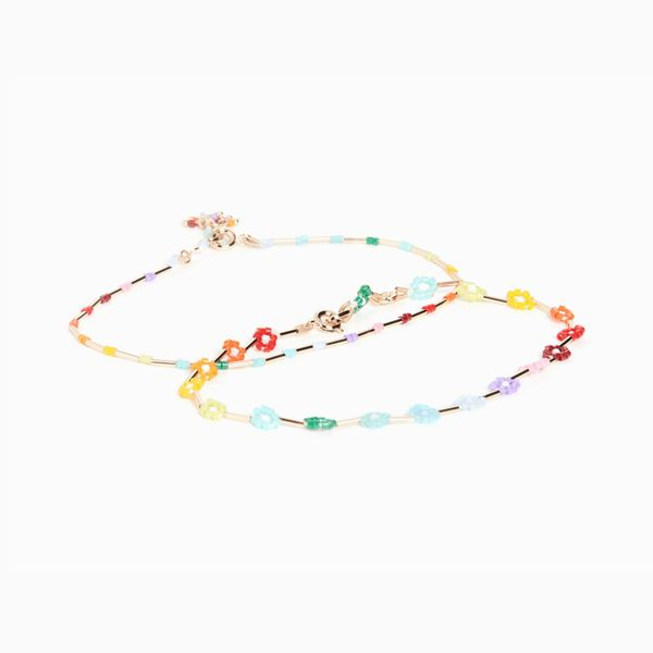 Roxanne Assoulin Set of Two Anklets