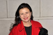 "NEW YORK, NY - JANUARY 17:  Actress Tracey Ullman attends the ""Cat On A Hot Tin Roof"" Opening Night at Richard Rodgers Theatre on January 17, 2013 in New York City.  (Photo by Stephen Lovekin/Getty Images)"