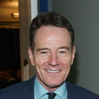 NEW YORK, NY - MARCH 27: Bryan Cranston attends
