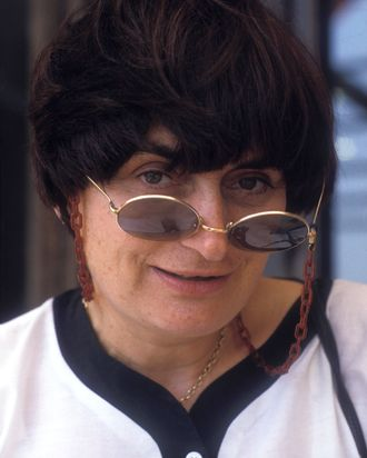 Agnès Varda.