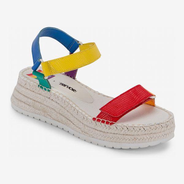 Dolce Vita Myra Pride Platform Espadrille Sandal