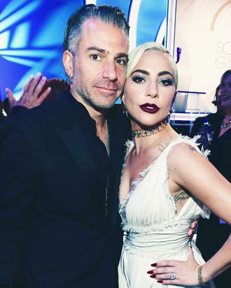 Lady Gaga and Christian Carino.